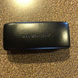 Givenchy Eyeglasses Black Hard Shell Case